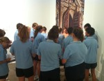 Rabbi Sheryl Engages High School Students at the Art Gallery of Western Australia