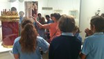 High School Students Learn From Rabbi Sheryl at the Art Gallery of Western Australia