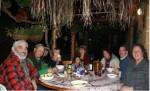 A Circle of Friends Celebrating Sukkot