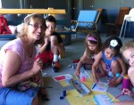 Kids express themselves through art in Rivkas Bookshelf Programs